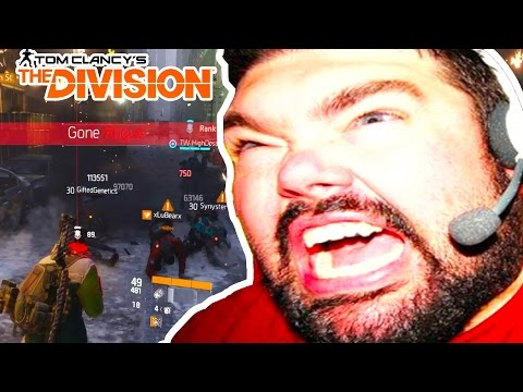 Tom Clancy's The Division - STICKY BOMB MAKES GAMERS RAGE (TROLLING)