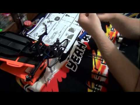team associated sc10 factory team kit build series part 6. front bumper & turnbuckles.