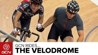 GCN Takes On The Velodrome – With Sir Chris Hoy!