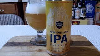 Samuel Adams New England IPA (6.8% ABV) DJs BrewTube Beer Review #1118