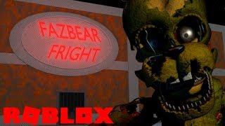 Creating Fazbears Fright (FNAF 3 Tycoon) in Roblox Animatronics Universe