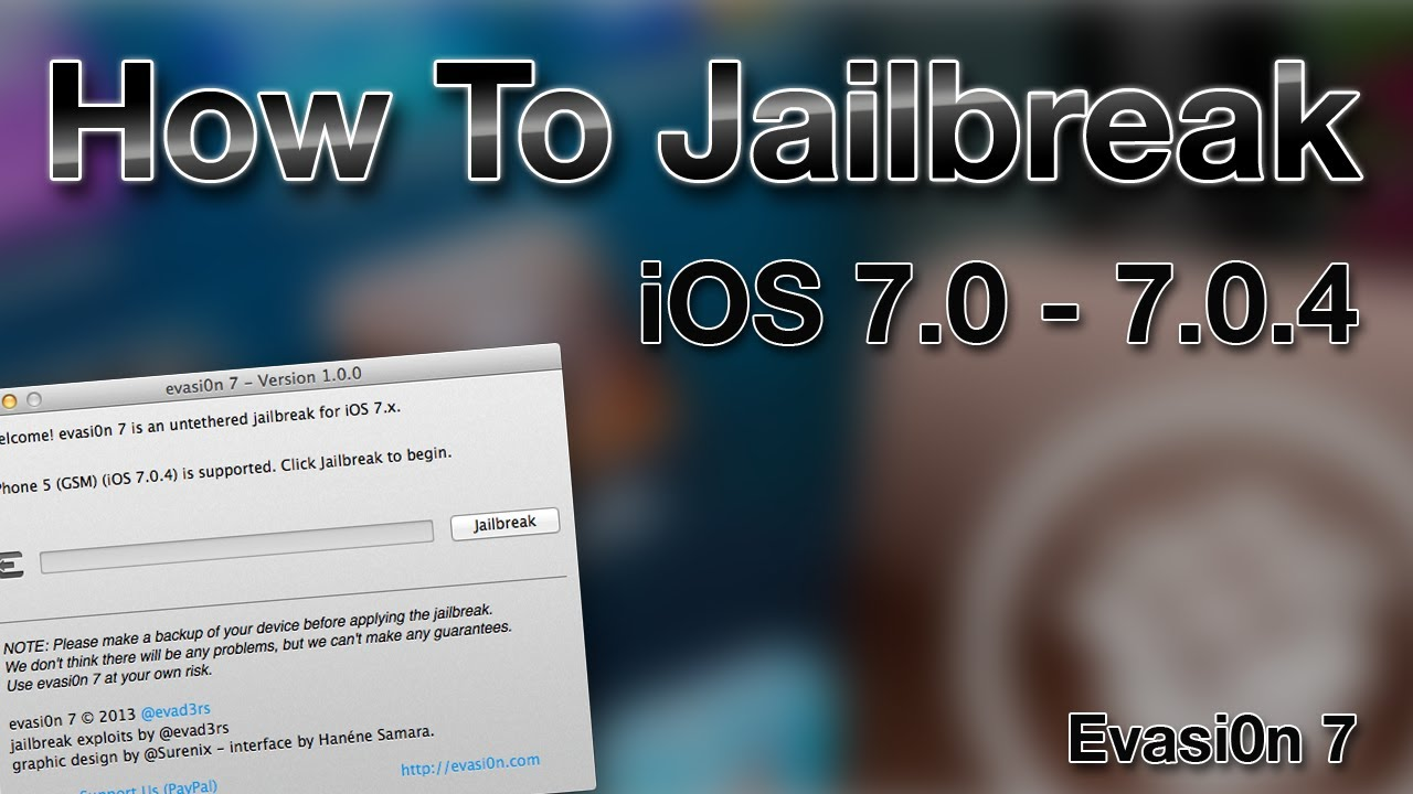 evasion jailbreak 7.0.4