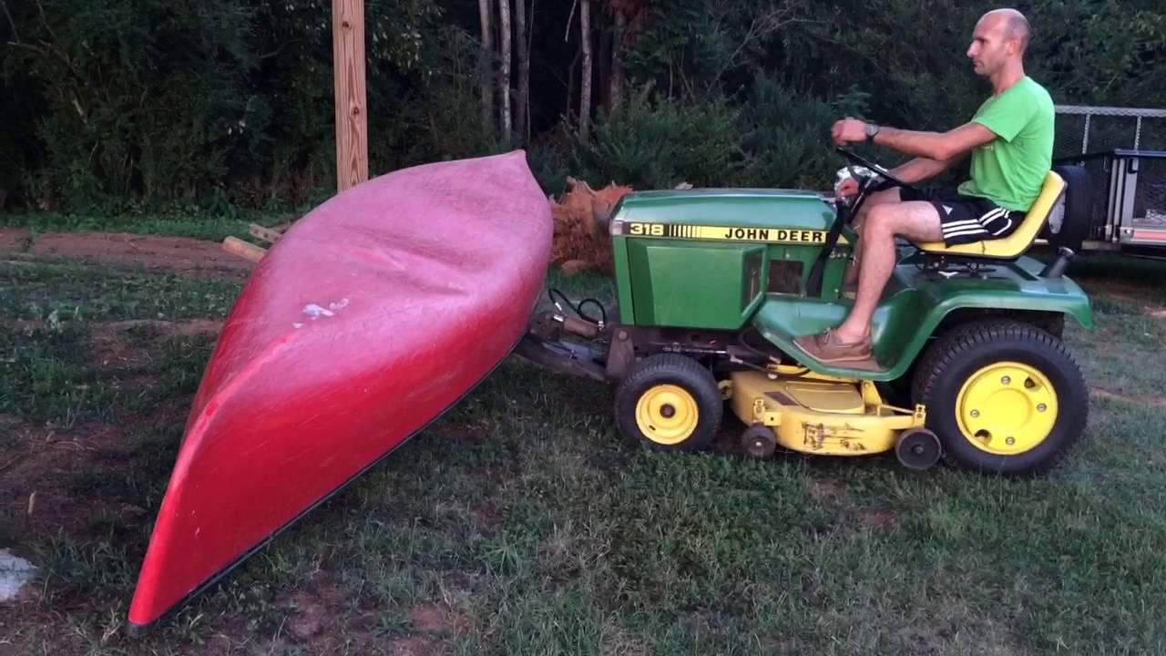 John Deere 318 18 Hp Lawn Tractor | John Deere Lawn Tractors