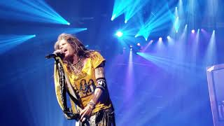 Aerosmith plays Cryin' at Park MGM Theater in Las Vegas Apr 6 2019.