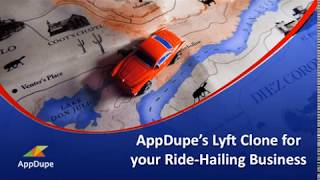 Get the Best Lyft Clone for your ride-hailing business