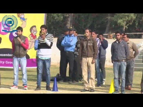 SGT University organizes 'Fun Games for Non Teaching Staff' 2015