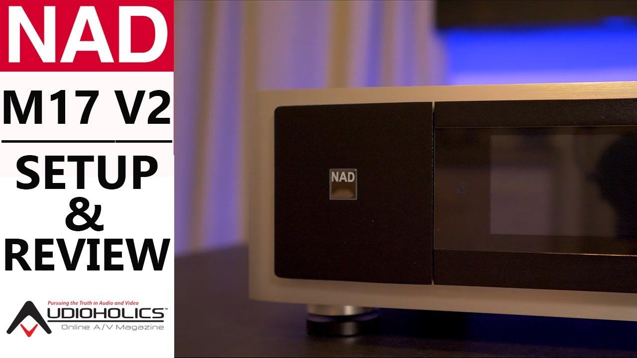 NAD M17 V2 11 1CH Dolby Atmos AV Processor Review