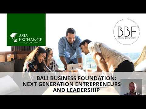 Why Study In Bali - Entrepreneurship & More