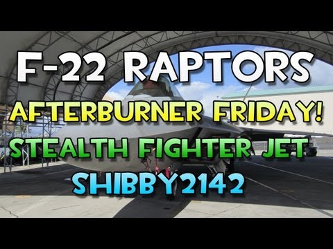 Afterburner Friday - F22 Raptors at Hickam Air Force Base - Oahu Hawaii - Shibby Commentary