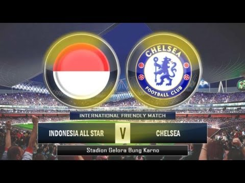 FC Chelsea vs Indonesia all-stars 25.07.2013 all goals and h