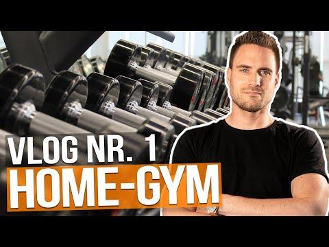 Ich baue mir mein eigenes Home-Gym. Vlog Nr. 1