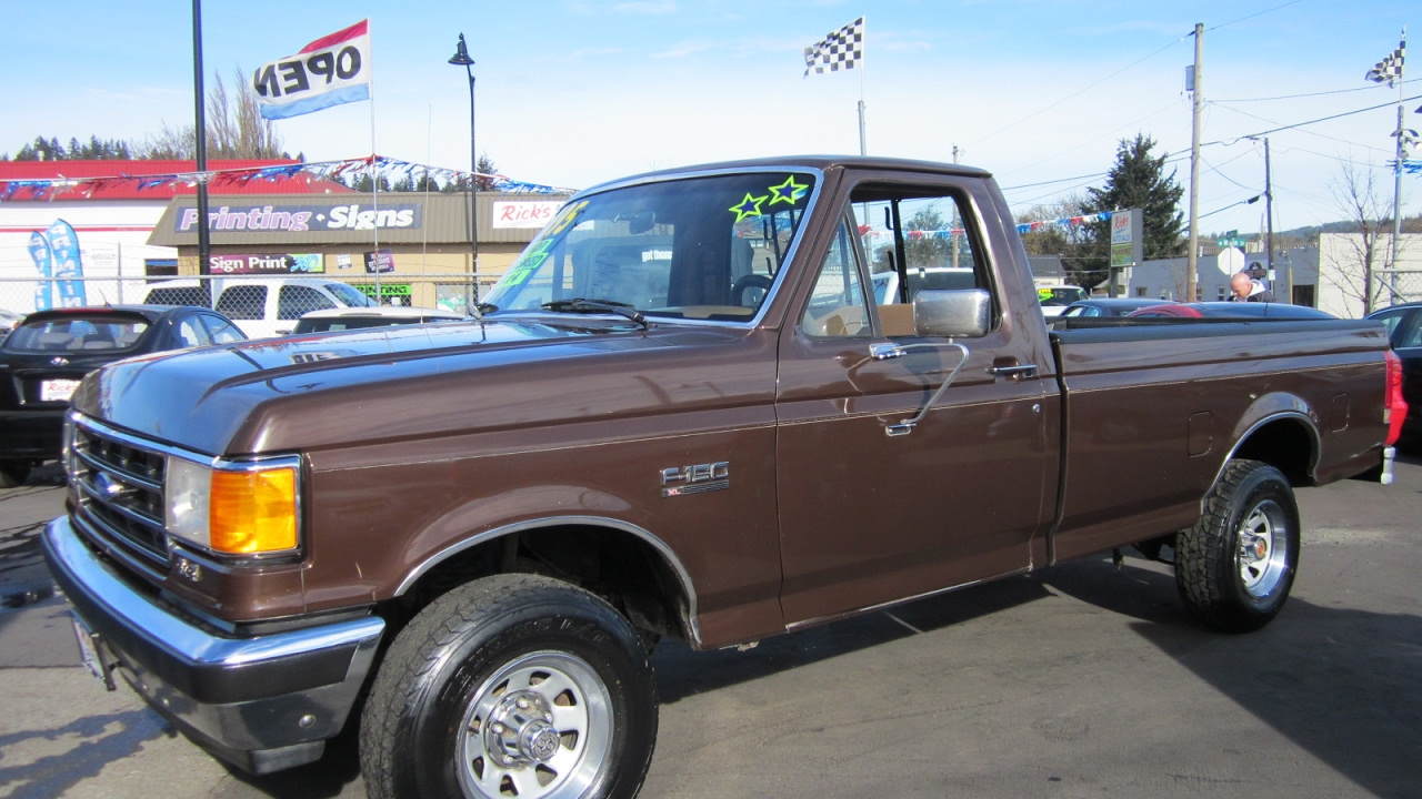 1990 ford f150 xl 4x4 sold