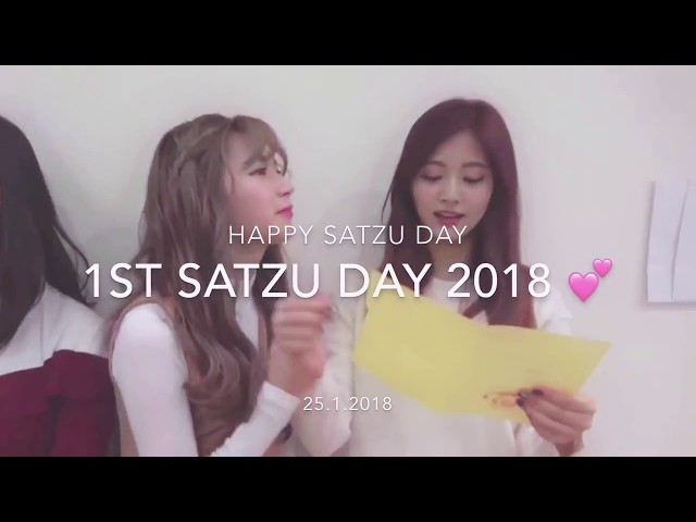 [ SaTzu ] Happy 1st SaTzu Day 2018!!! - Sana X Tzuyu
