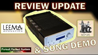 Download Video Leema Acoustics Elements Integrated HiFi Amplifier REVIEW UPDATE & Song Demo Monitor Audio Platinum MP3 3GP MP4