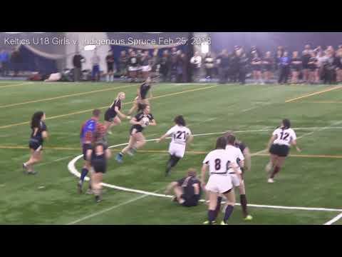 Keltics U18 Girls v. Indigenous Spruce - Fear the Spear 7s