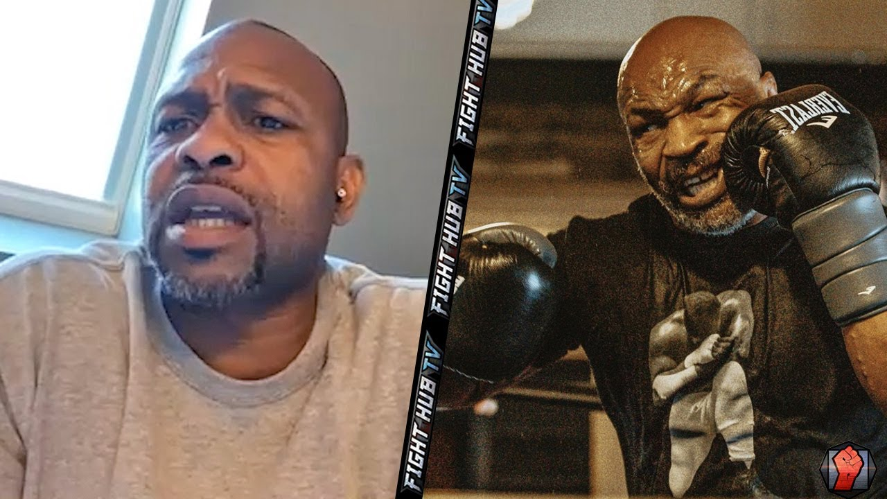 """ROY JONES JR WARNS TYSON """"YOU DROP ME, ALL OUT WAR!"""" SAYS FIGHT AINT NO EXHIBITION NO MORE!"""