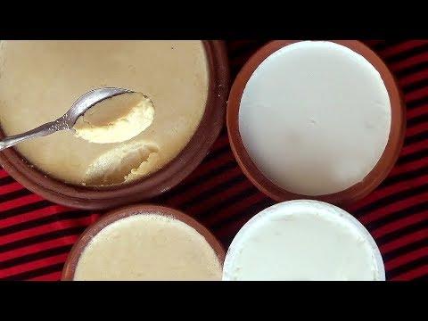 মিষ্টি দই ও টক দই বানানোর রেসিপি - ঘরে দই তৈরি - Tok Doi Mishti Doi Recipe - Doi Recipe in Bengali