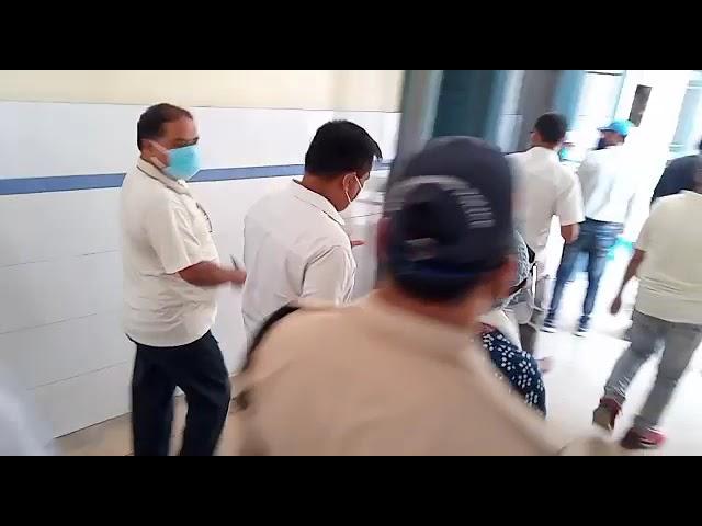 DM Udhamsing Nagar got anger, found insufficient work in jaspur hospital