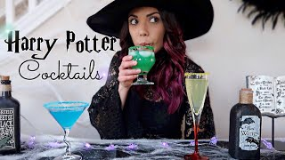 Harry Potter Cocktails! | Collab w. Jkruuuplans!