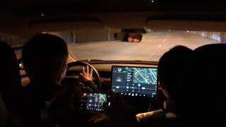 Tesla Model 3 Delivery Event – Test Drive (4K)