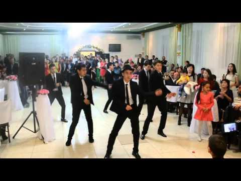 Флешмоб на свадьбе Марат Айдана