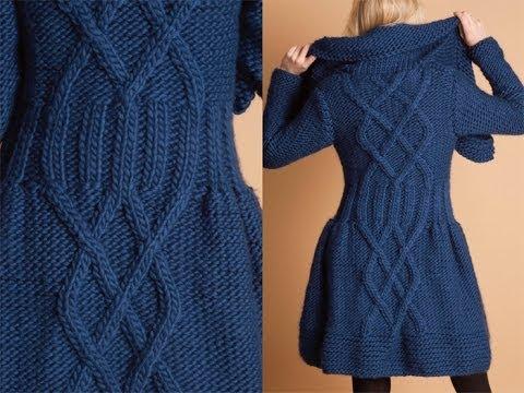 #26 Twinkle Coat Dress, Vogue Knitting Winter 2010/11