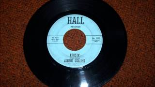 ALBERT COLLINS FROSTY HALL RECORD LABEL