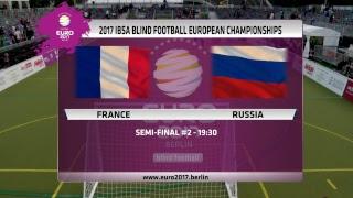 IBSA Blindenfußball Europameisterschaft 2017 17.00 Uhr – Halbfinale 1: England – Spanien