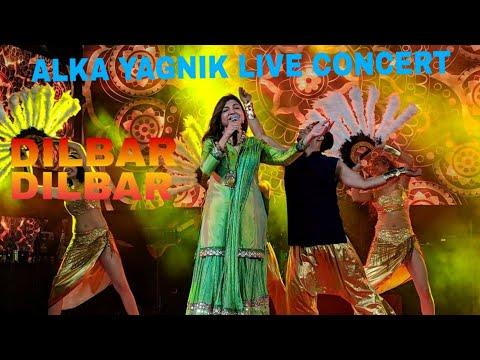 Dilbar Dilbar    Alka Yagnik Live Concert    Sirf Tum    Mp3