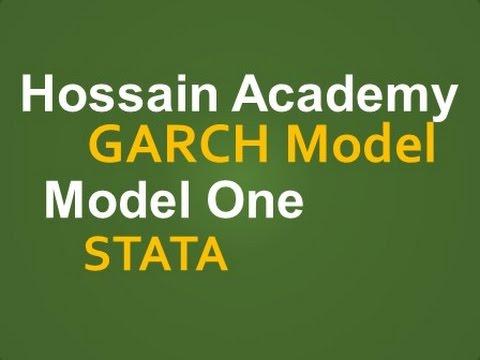 GARCH Model. Model One. STATA