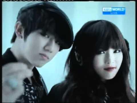 [NextWeek] HyunA & Hyunseung's 'Trouble Maker' @MusicBank