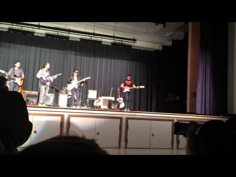 Green Valley Middle School Guitar Night 2015