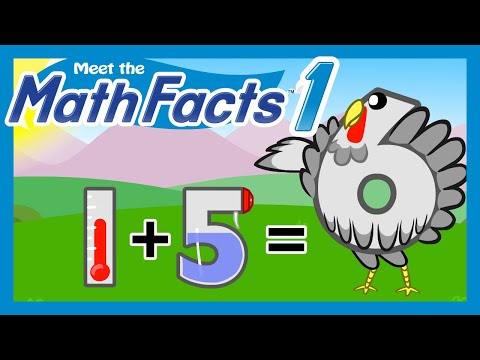 Meet the Math Facts Level 1 - 1+5=6