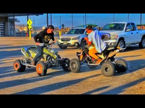 Parking Lot QUAD DOUBLE Donuts! FOR THE FANS!