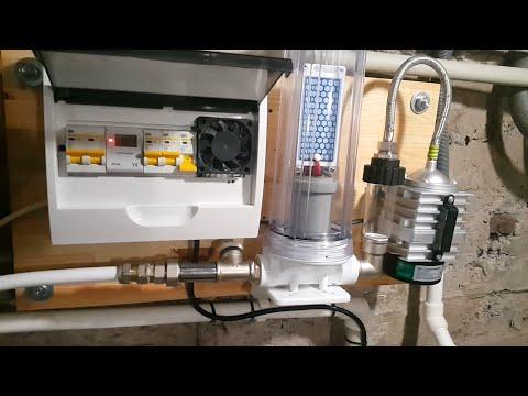 очистка воды в колодце обезжелезивание озонация стерилизация до и после