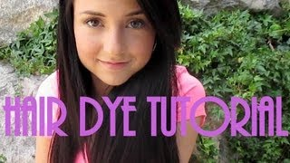 Hair Dye Tutorial Thumbnail