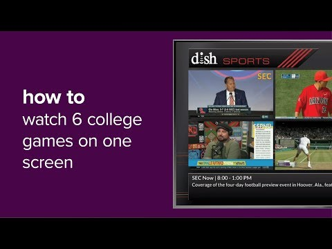 College Sports Multi-Channel View App On DISH's Hopper