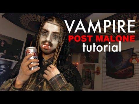 VAMPIRE POST MALONE HALLOWEEN COSTUME TUTORIAL