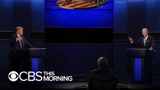 Analysis of the first presidential debate of the 2020 campaign