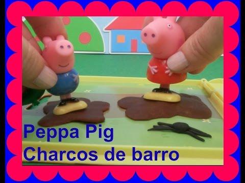 Peppa pig atrapada en el slime de la piscina de moco verde for Peppa pig en la piscina