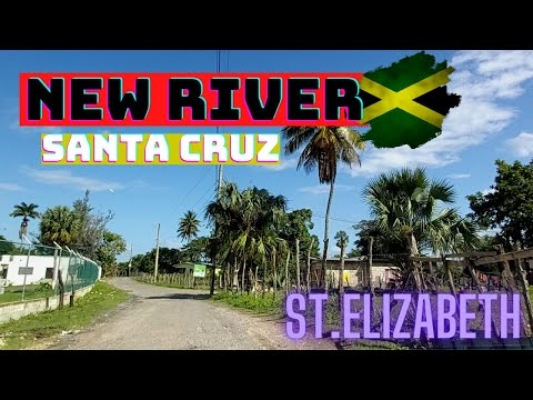 BEST STEAM FISH ON A SUNDAY  IN NEW RIVER SANTA CRUZ  ST.ELIZABETH TAKE A TOUR OF THE COMMUNITY