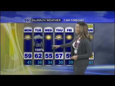 WACH Forecast 12/26/11, Alexis King