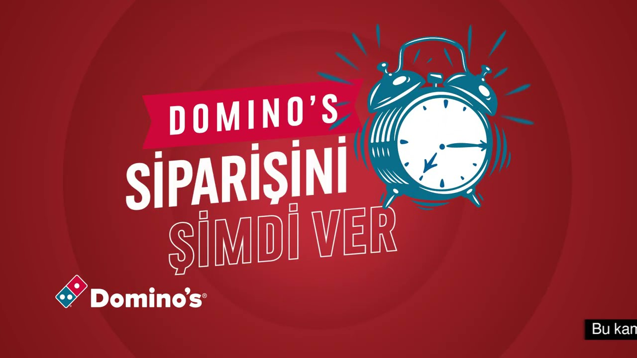 Domino's İleri Tarihli Siparişle İftar Sofran Tam Saatinde Olsun!