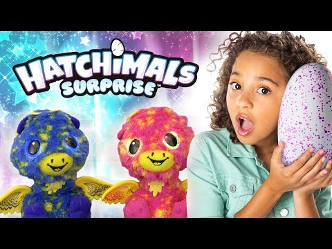 SPIN MASTER'S NEW HATCHIMALS SURPRISE FEATURE TWINS INSIDE!!! | A Toy Insider Play by Play