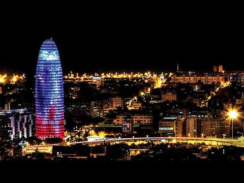 Torre Agbar - Barcelona, Catalonia, Spain