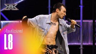 X Factor 2021 AUDIZIONI 2   L8 infiamma il palco con il suo inedito FREAK Thumb