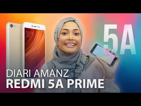 Diari Amanz - Xiaomi Redmi Note 5A Prime