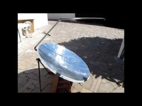 Forno Solar de Antena Parablica  DIY Satellite Dish