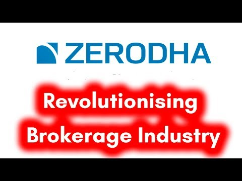 ZERODHA - Revolutionising Stock Brokerage Industry in India