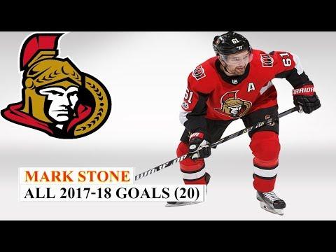 Mark Stone (#61) All 20 goals of the 2017-18 NHL Season